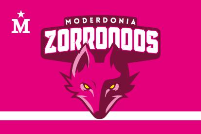 Drapeau Moderdonia Zorroooos