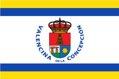 Bandera Valencina de la Concepción personalizada 2