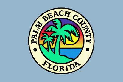 Bandera Condado de Palm Beach