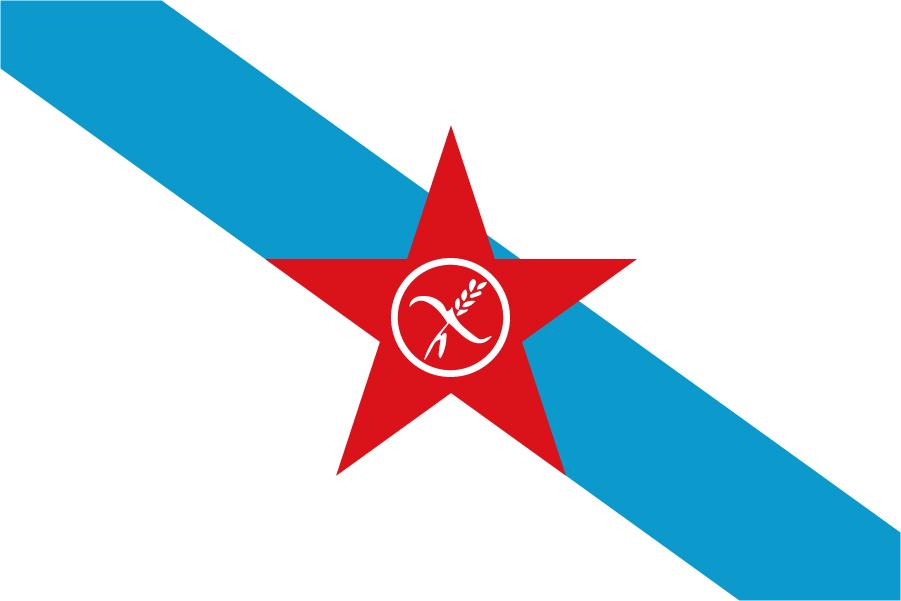 Bandera Nacionalista gallega glutem free