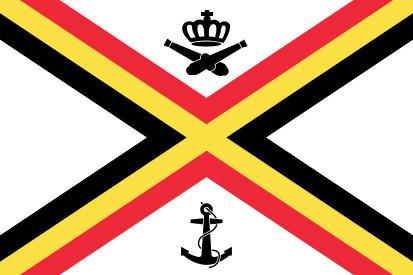 Bandera Naval de Bélgica