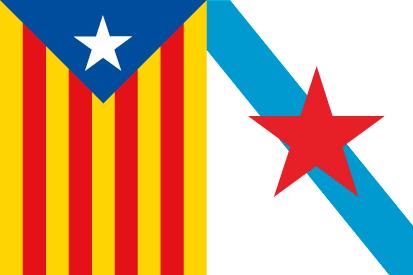 Bandera Esteladas Galicia Cataluña