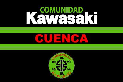 Bandera Comunidad Kawasaki Cuenca