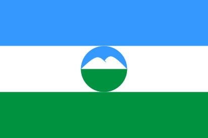 Bandera Kabardia-Balkaria