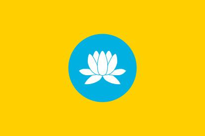 Bandera Kalmukia