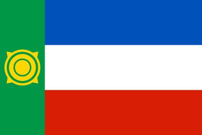 Bandera República de Jakasia