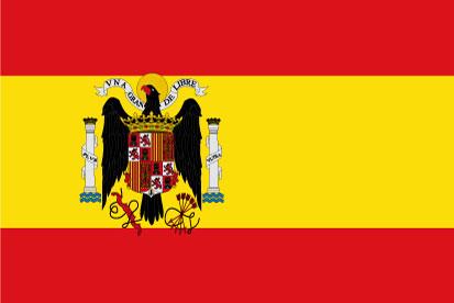 Bandera España Preconstitucional del 1938 a 1945