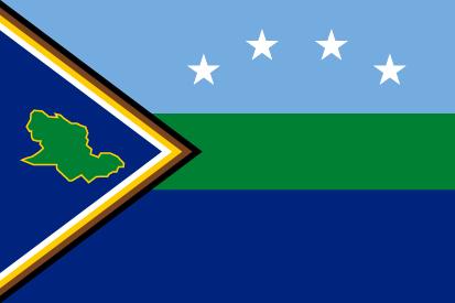 Bandera Estado Delta Amacuro