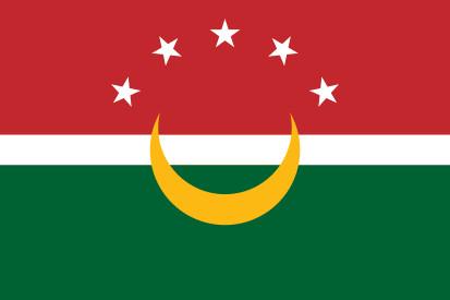 Bandera Unión del Magreb Árabe