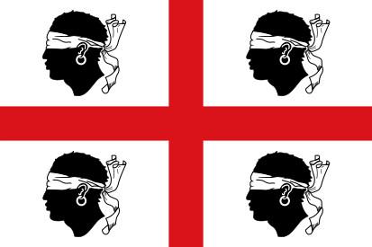 Bandera Nacionalismo sardo