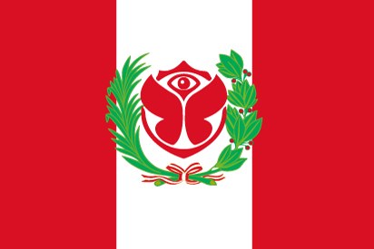 Bandera Tomorrowland Perú