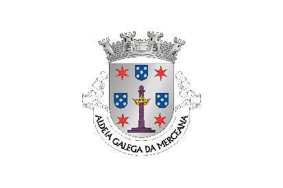 Bandera Aldeia Galega da Merceana