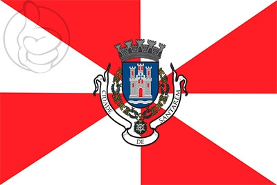 Bandera Santarém, Portugal
