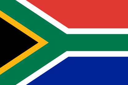Bandera Afrique du Sud