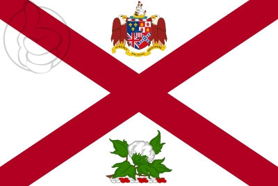 Bandera Gobernador de Alabama
