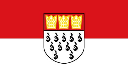 Bandera Colonia, Alemania