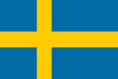 Bandera Suécia