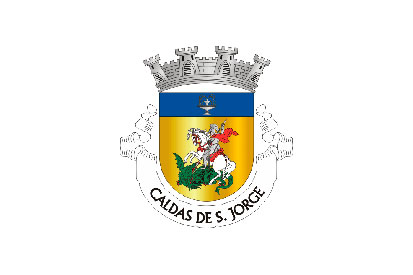 Bandera Caldas de São Jorge