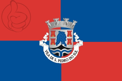 Bandera São Pedro do Sul, Portugal