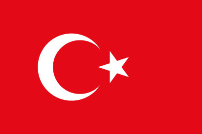 Bandera Turkey