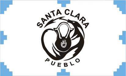 Bandera Santa Clara Pueblo, New Mexico