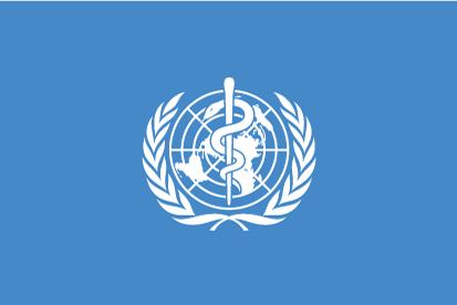 Bandera Organización Mundial de la Salud