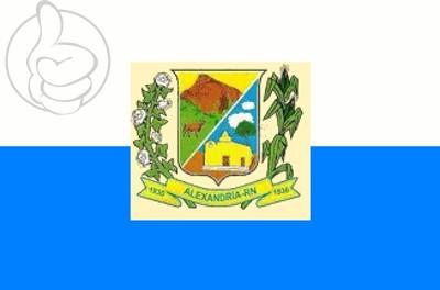 Bandera Alexandria, Rio Grande do Norte
