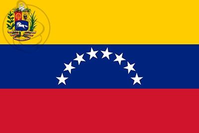 Bandera Venezuela 8 estrelas