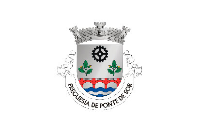 Bandera Ponte de Sor (freguesia)