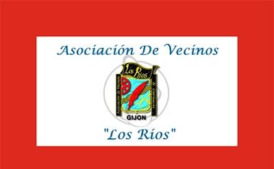 Bandera Asociación de Vecinos (Los Ríos)