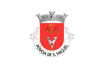 Bandera Póvoa de São Miguel
