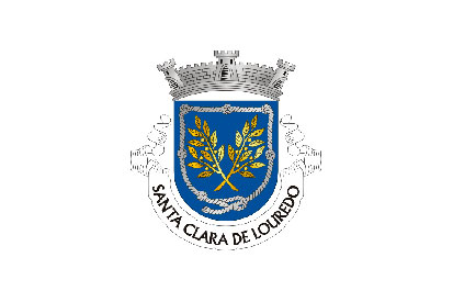 Bandera Santa Clara de Louredo
