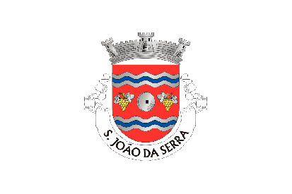 Bandera São João da Serra (Oliveira de Frades)