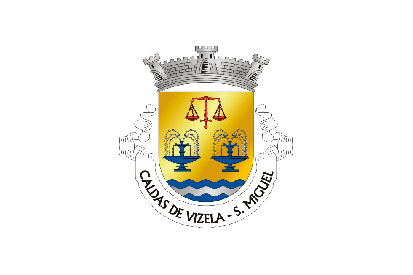 Bandera São Miguel de Caldas de Vizela
