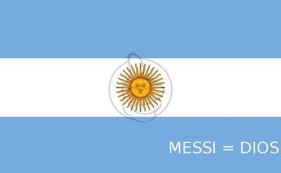 Messi = Dios personalizada