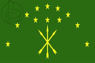 Bandera República de Adiguesia