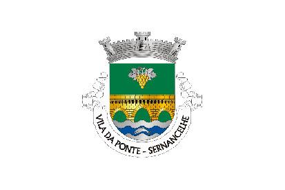 Bandera Vila da Ponte (Sernancelhe)