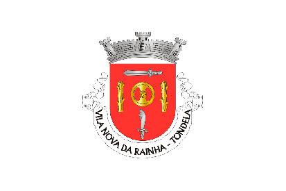 Bandera Vila Nova da Rainha (Tondela)