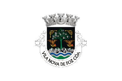 Bandera Vila Nova de Foz Côa (freguesia)