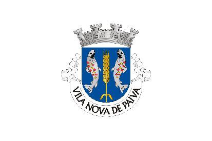 Bandera Vila Nova de Paiva (freguesia)