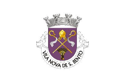 Bandera Vila Nova de São Bento