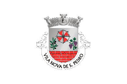 Bandera Vila Nova de São Pedro