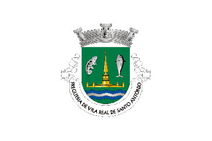 Bandera Vila Real de Santo António (freguesia)