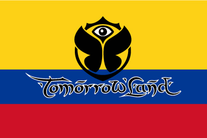 Bandera Tomorrowland Colombia