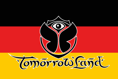 Bandera Alemania Tomorrowland