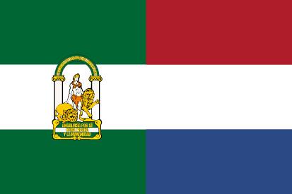 Bandera Andalucía Holanda