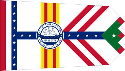 Bandera Tampa, Florida