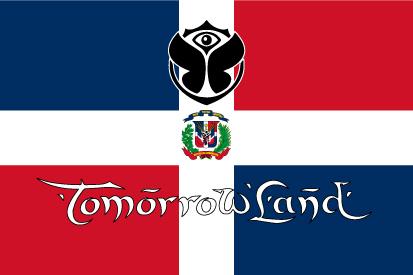Bandera TomorrowLand República Dominicana