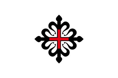 Bandera Orden de Montesa