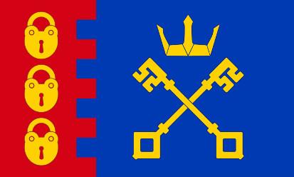 Bandera Willenhall, Staffordshire